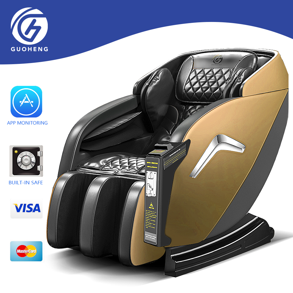 GUOHENG vending massage chair with bill and coin acceptor and with APP management